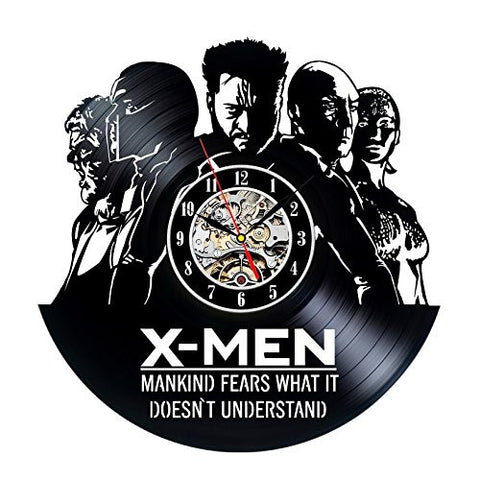 X-MEN 3D Vinyl Record Clock