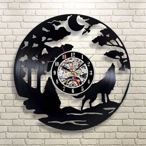 World of Warcraft 3D Vinyl Wall Clock