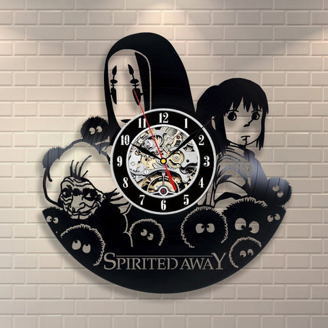 Spirited Away 3D Vinyl Clock