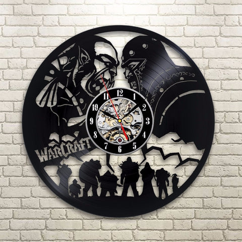 World of Warcraft 3D Clock