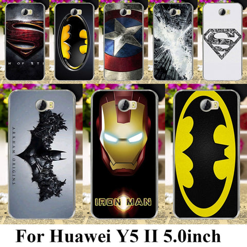 Huawei Y5 II 5.0inch Super Hero Phone Cases