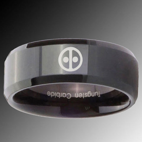 Dead Pool Tungsten Rings