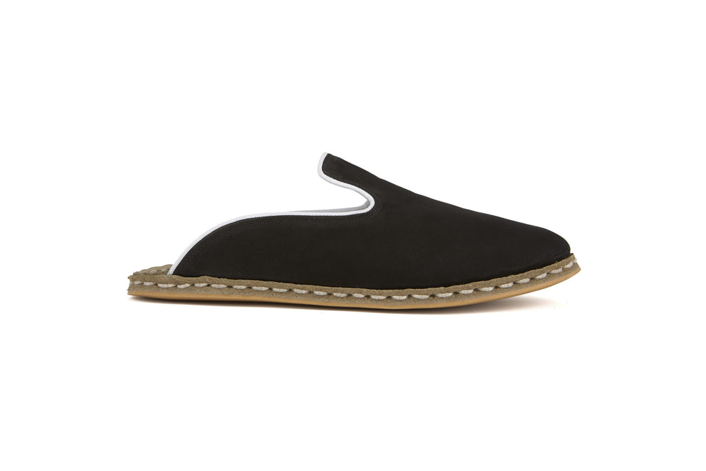 Flat Fours Slip-On Black - Flat Four Studios