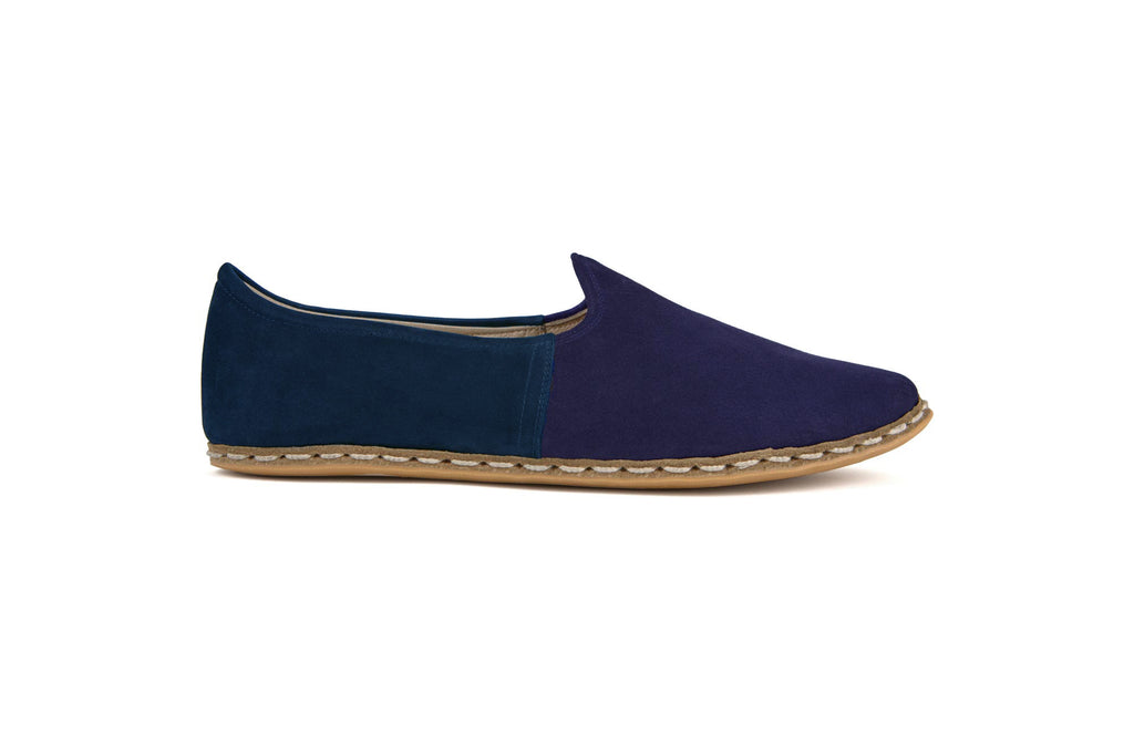 Men's Flat Fours Navy/Turquoise - Flat Four Studios