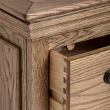 Dorchester Oak Seven Drawer Dresser