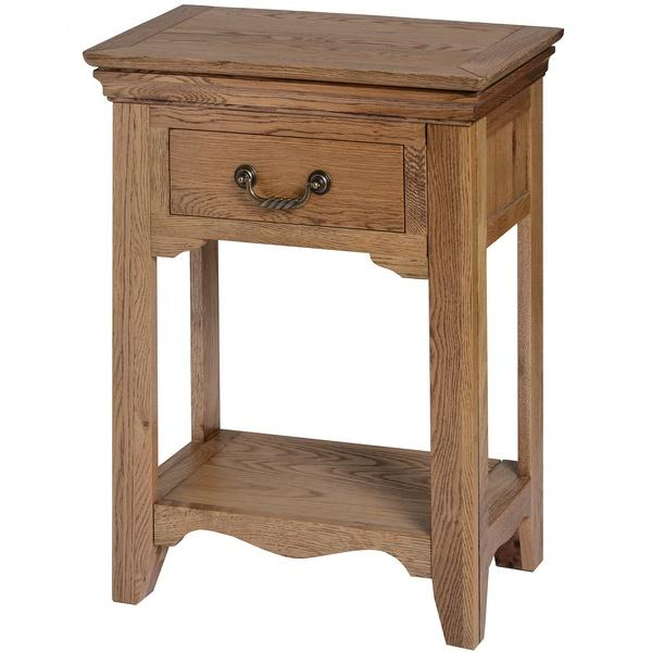 Dorchester Oak One Drawer Hall Table