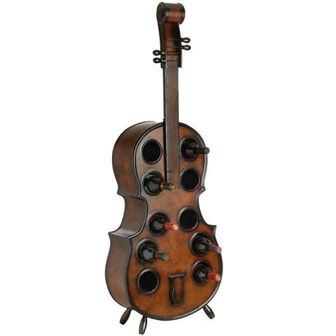 Double Bass Wine Rack