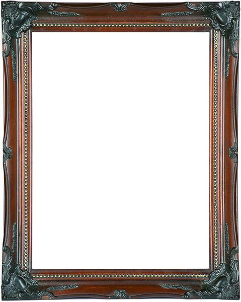 Black and Wood Effect Classic Frame