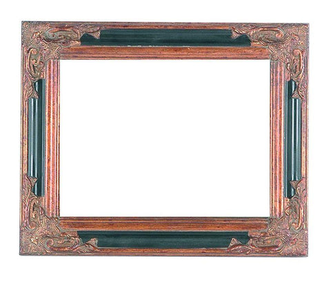 Black and Bronze Classic Frame