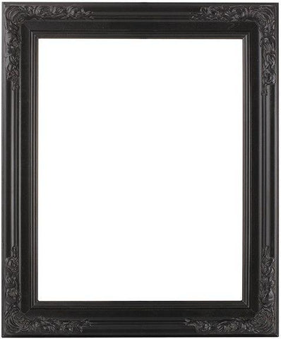 Black Modern Ornate Frame