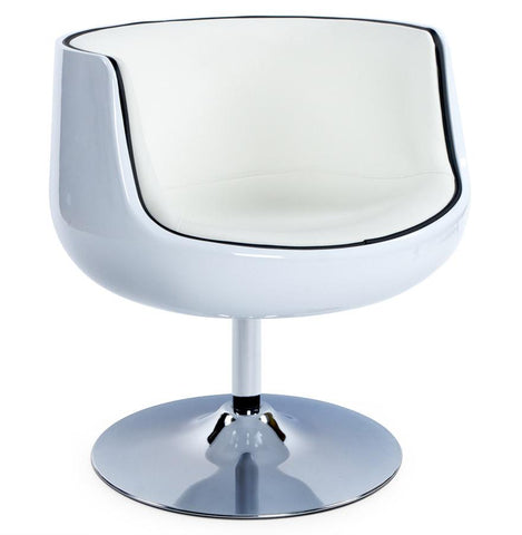 White Harlow Armchair