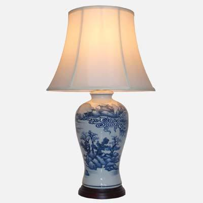 Pair of Yun Shui Lamps