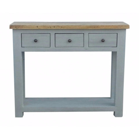 Colorado 3 Drawer Console Table