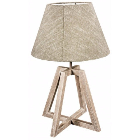 Triangular Based Table Lamp