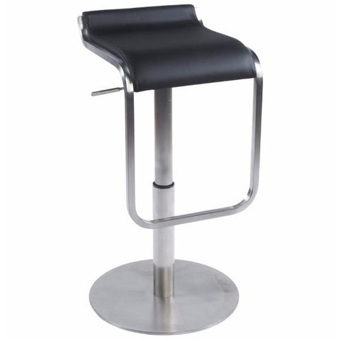 Black and Chrome Low Contoured Seat