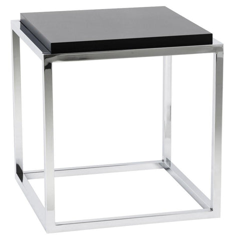 Black Kvadra Side Table