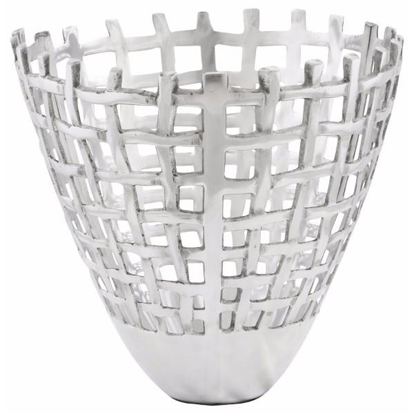 Tall Aluminium Fruit Bowl
