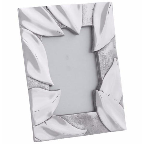 Leaf Bordered Photo Frame