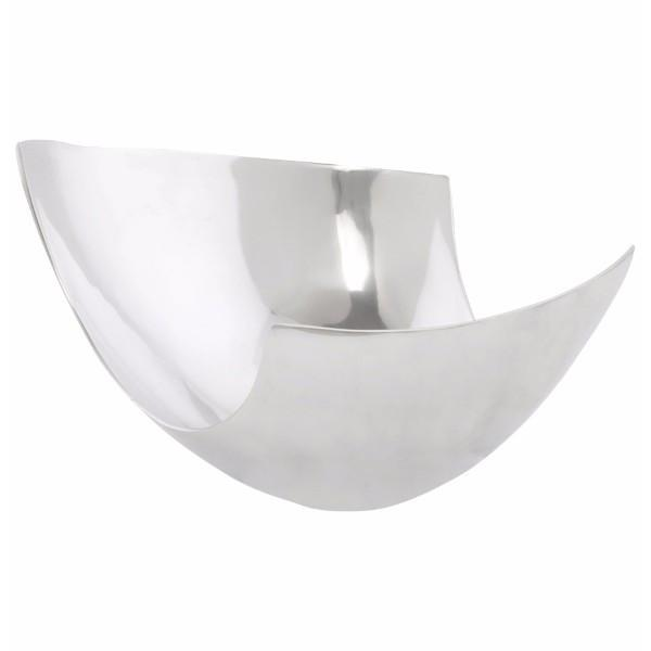 Large Wallless Aluminium Bowl