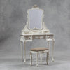 Antique Style Dressing Table and Stool