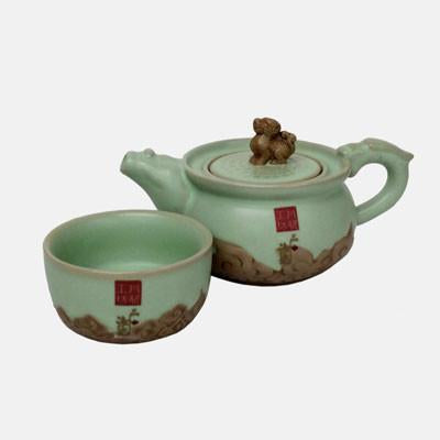 Fu Dog Teaset For One