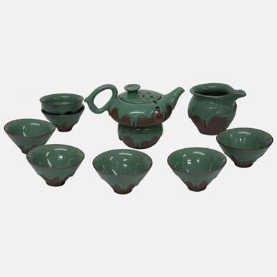 Green Iced Teaset