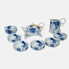 Blue and White Glory Teaset