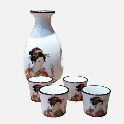 Ladies Sake Set