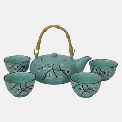 Duck Egg Tea Set