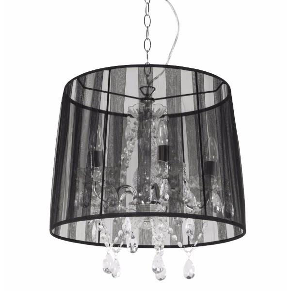 Black Chandelier Lampshade
