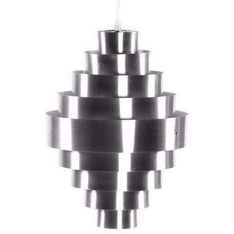 Banded Metal Lamp
