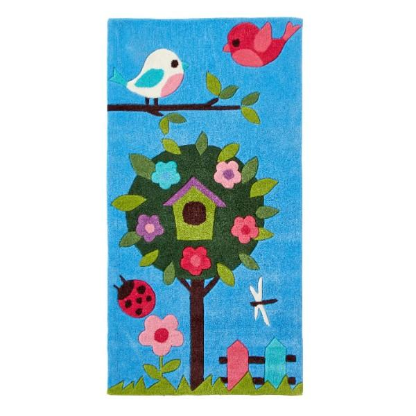 Kids Blue Nature Rug