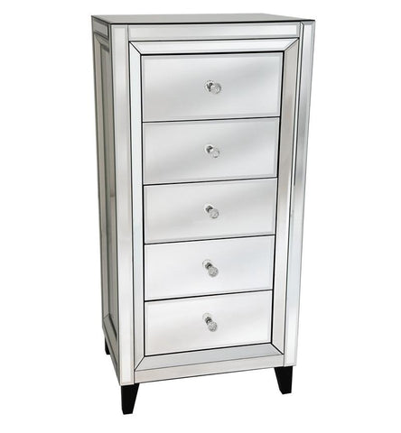 Mayfair Tall Chest with 5 Drawers