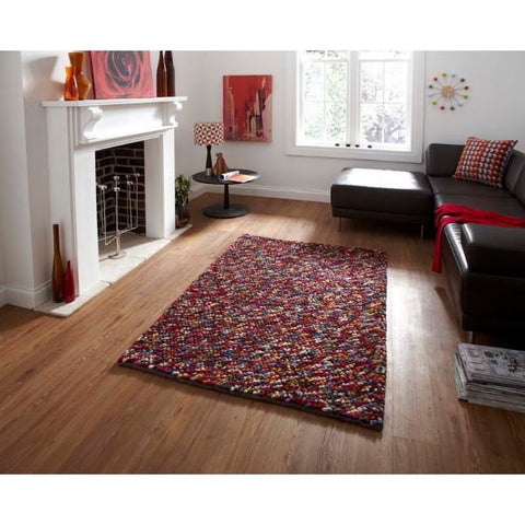 Pebbles Multi Colour Rug