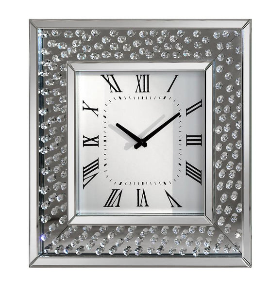 Rhombus Square Clock