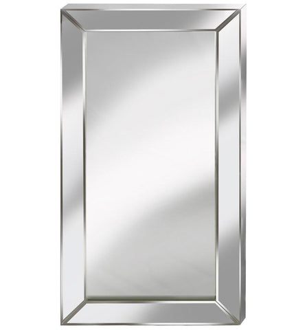 Cube Box Mirror with Silver