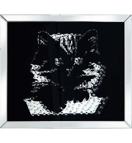 Rhombus Cat Mirror