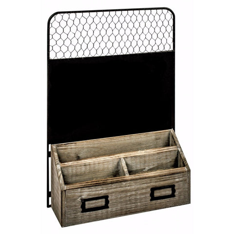 Wood & Metal Storage Unit