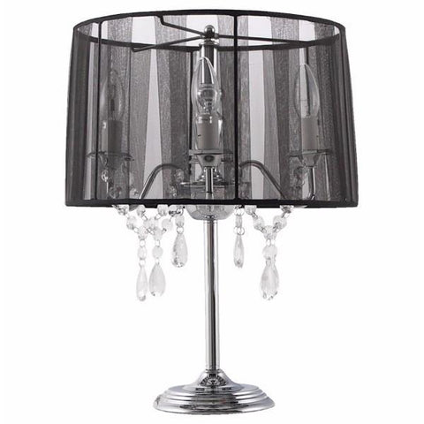 Black Chandelier Lamp