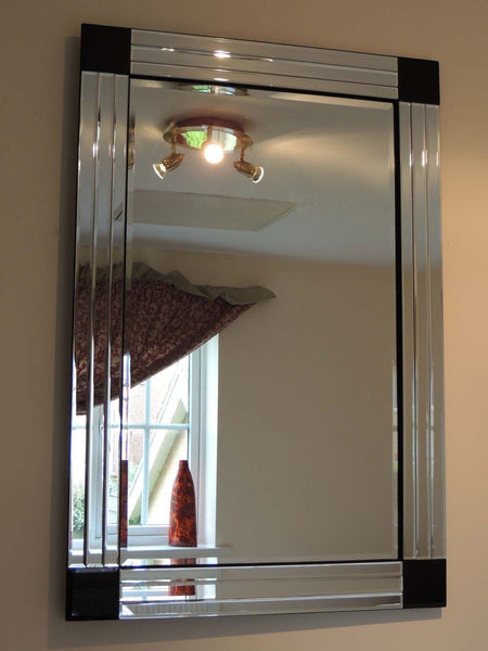 3 Bar Art Deco Mirror