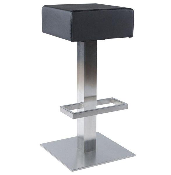 Black Square  Padded Seat