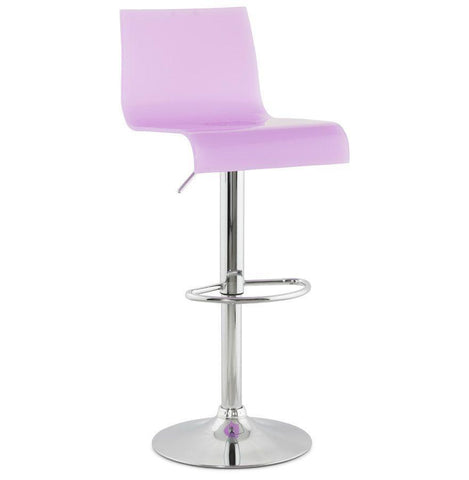 Pink Tall Backed Seat With Footrest