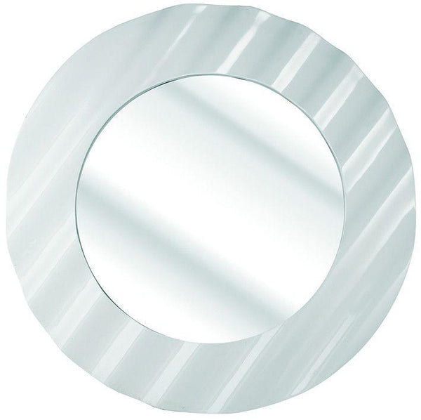 Waved Disc Mirror