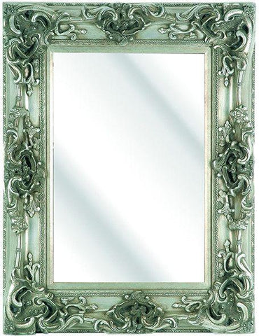 Prestige Silver Ornate Mirror