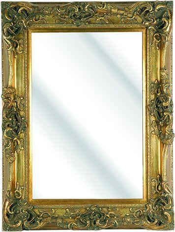 Gold Classic Roots Mirror