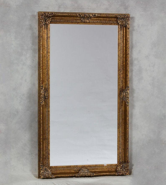 Gold Rectangle Classic Mirror