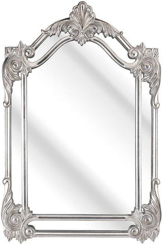 Ornate Leaf Mirror
