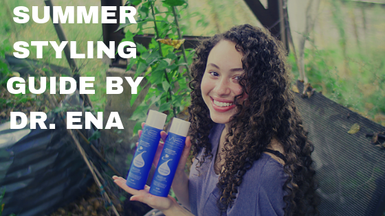 SUMMER HAIR STYLING: 1-2-3-for-ME process (cleanse + condition + style), and Natural-Ingredient Products