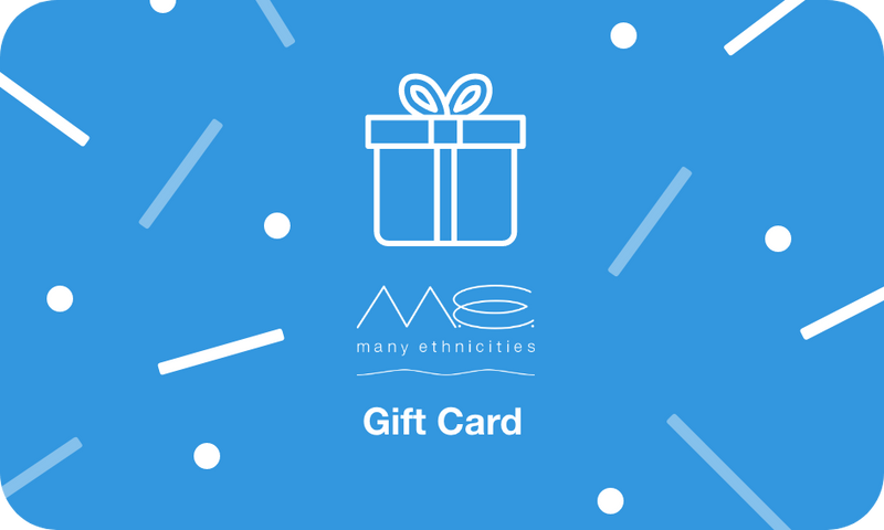 Many Ethnicities Gift Card