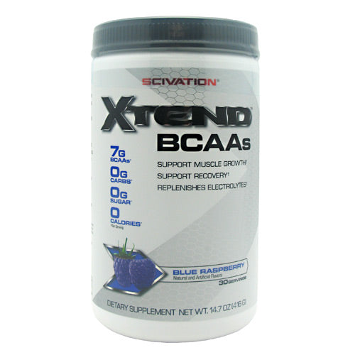 Scivation Xtend - Blue Raspberry - 30 Servings - 181030000151